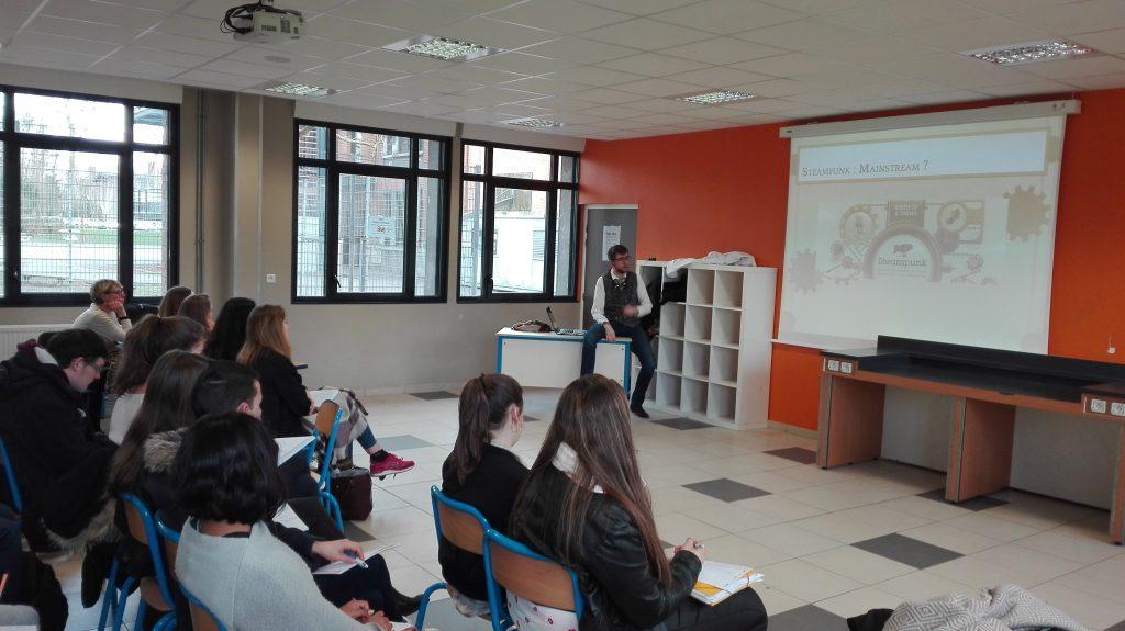Conférence Steampunk Lycée Sainte Odile Lambersart