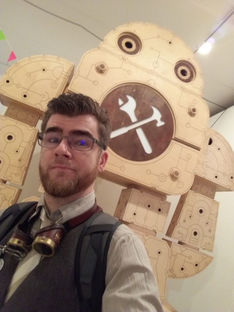 Un steampunk à la Maker Faire