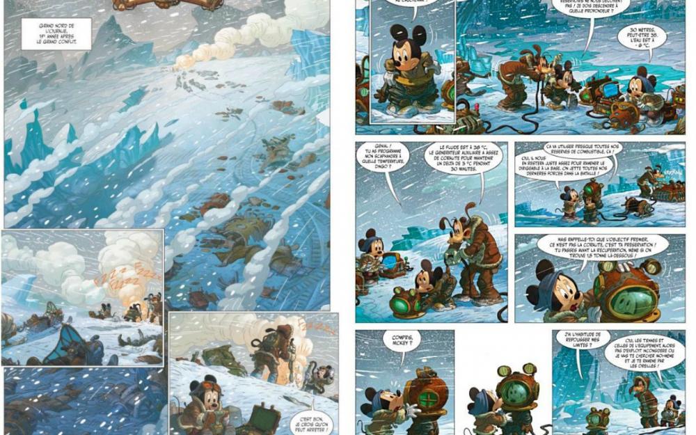 Mickey et l'océan perdu-Glénat camboni