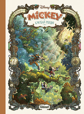 Mickey et l'océan perdu Glénat Camboni et Filipi